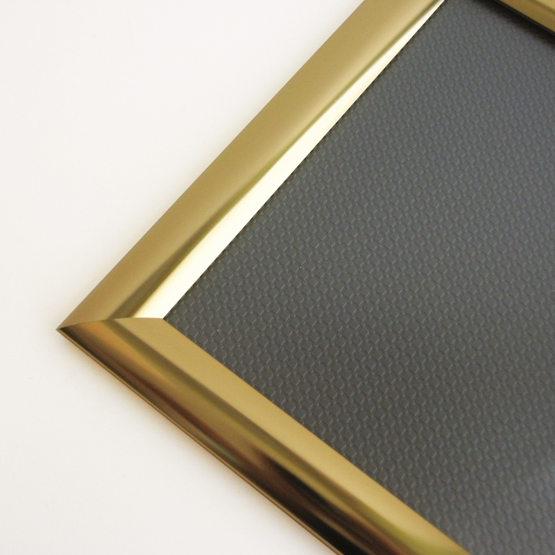 472746aada97 Polished gold snap frame. Like this product