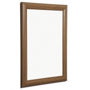 Dark wood snap frame