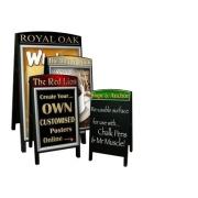 Premium Wooden A-Board