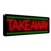 Takeaway LED Sign