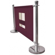 Premium Canvas Cafe Barrier