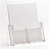 2 Pocket 1/3rd A4/DL Portrait Leaflet Holder