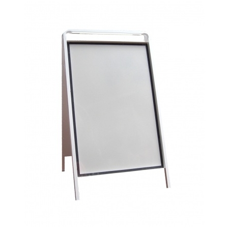 All Steel A-board with Poster Holder