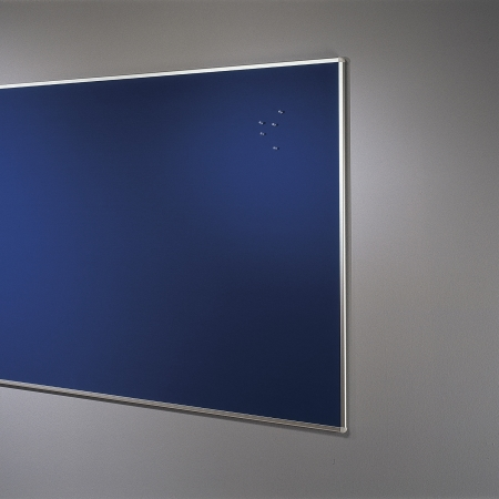 Blue 2400 x 1200mm noticeboard