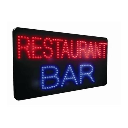 Restaurant Bar LED Sign
