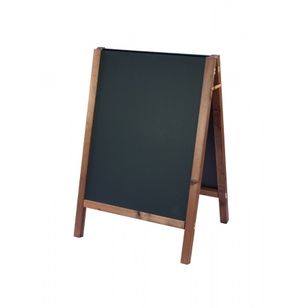 Square Framed Wooden A-board