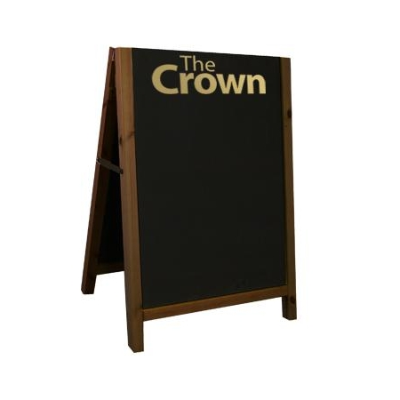 Reversible Wooden A1 A-Board