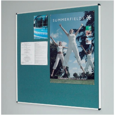 Shield Noticeboard Flame Resistant