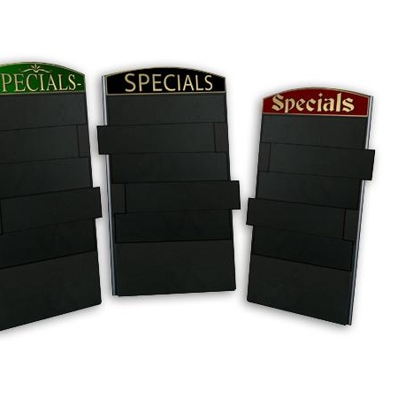 Slatted Chalkboard with Personalised Header
