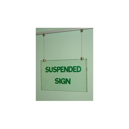 Suspended panels: 10 mm silicon A3 below wires