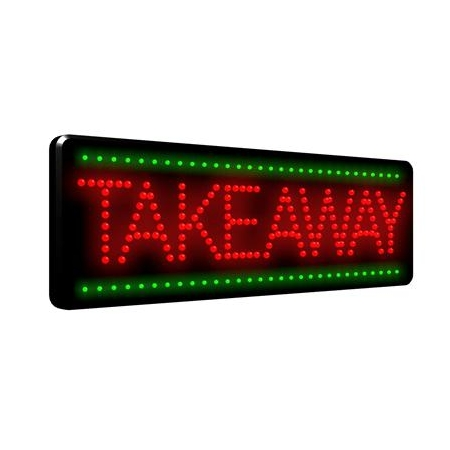 Takeaway LED Sign