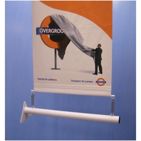 Wall Mounted Banner Pole