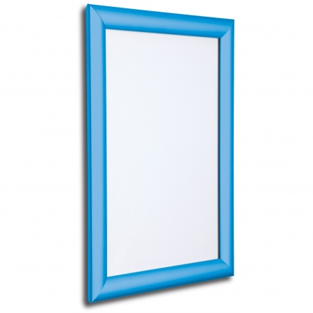 Light blue snap frame