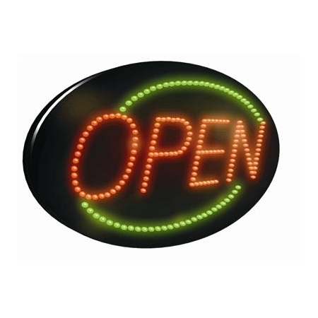 Open 2 LED Sign