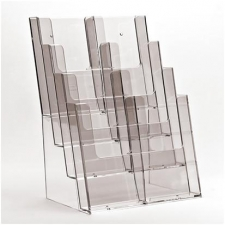 8 Pocket 1/3rd A4/DL Portrait Leaflet Holder