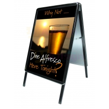 Snap frame Black A-Board