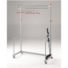 Deluxe freestanding coat rail