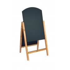 Curved Top Wooden A-board