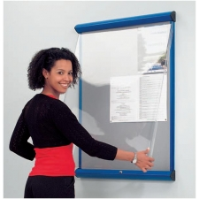 Shield Showline Solo covered noticeboards