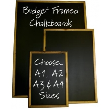 Budget Wooden Chalkboards