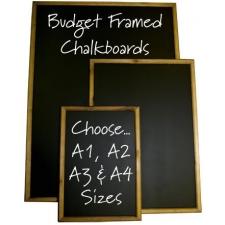 Budget Framed Chalk boards