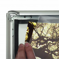 Waterproof snap frame