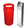 Bins and Cigarette Bins